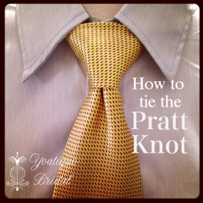pratt knot with logo