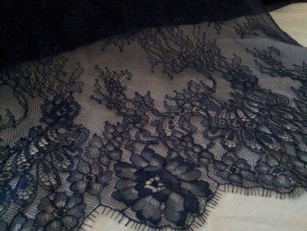 alencon lace blue