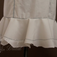 2013 Couture Project : Creating the Skirt Ruffle
