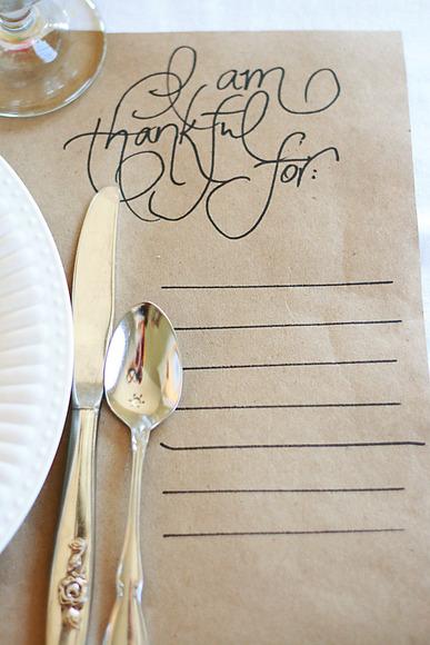 thanksgiving via