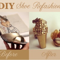 Bridal Shoe Refashion Tutorial : Inspiration Board