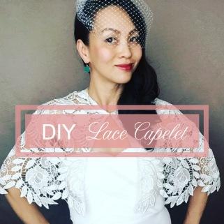 DIY Lace Capelet
