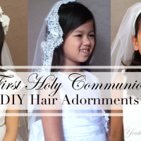 First Communion DIY's, April & May Updates