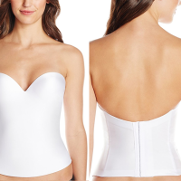 Happy 2017 New Year! : Undergarment options for a Sweetheart Neckline & Low Back Wedding Dress