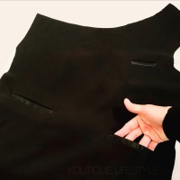 How to Sew a Welt Pocket (single) : Tuxedo Inspired Dress