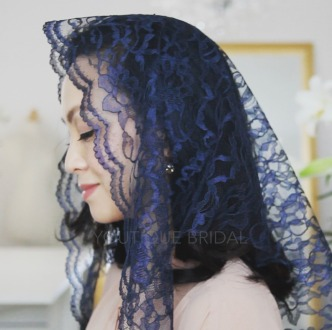 The Blue Triangle Chapel Veil