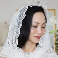 DIY Chapel Veils : Infinity & Triangle Chapel Veil