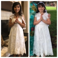 Restyling the First Communion Dress : Tina Scarlatella
